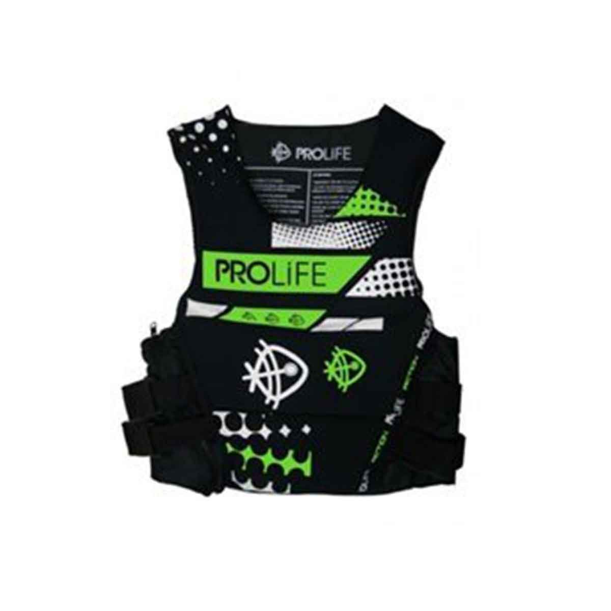 Colete Neoprene ProLife New Action Homologado Verde