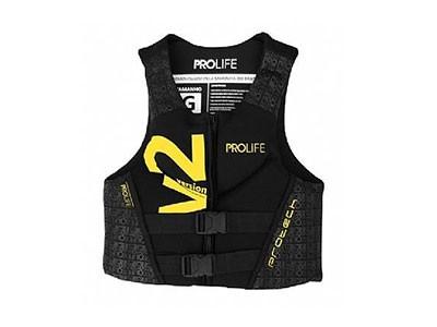 Colete Neoprene Prolife New Protech V2 Homologado Amarelo