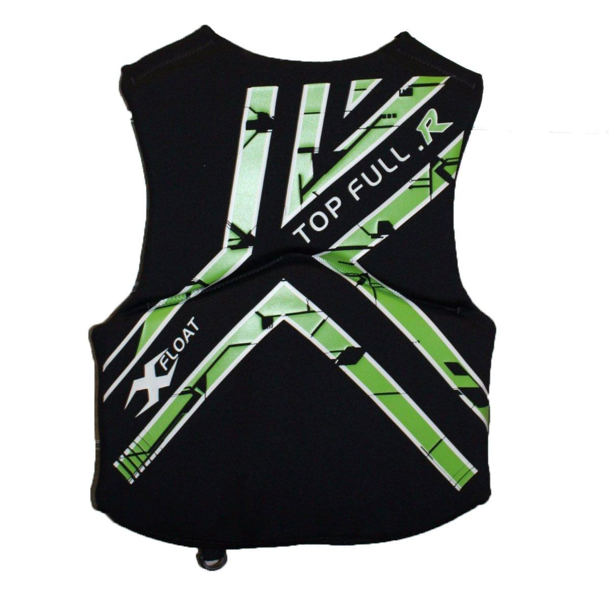 Colete Neoprene X-Float Top Full Homologado Verde