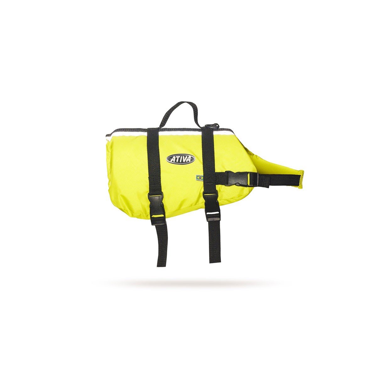 Colete Pet Vest JT Amarelo - Ativa