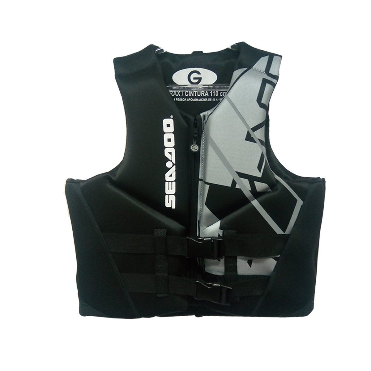 Colete Sea-Doo Neoprene Freedom Preto