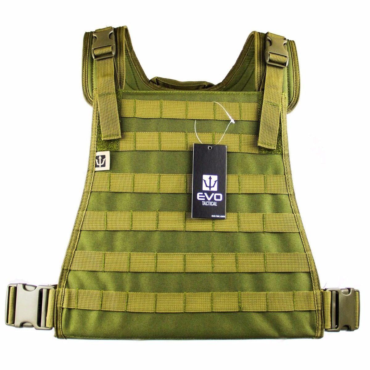 Colete Tático Modular Strike Commando Recon Plate Carrier Style Cor: Verde