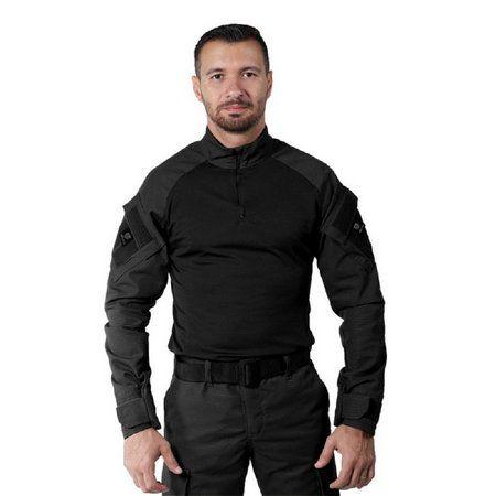 Combat Shirt Belica 4 Preto