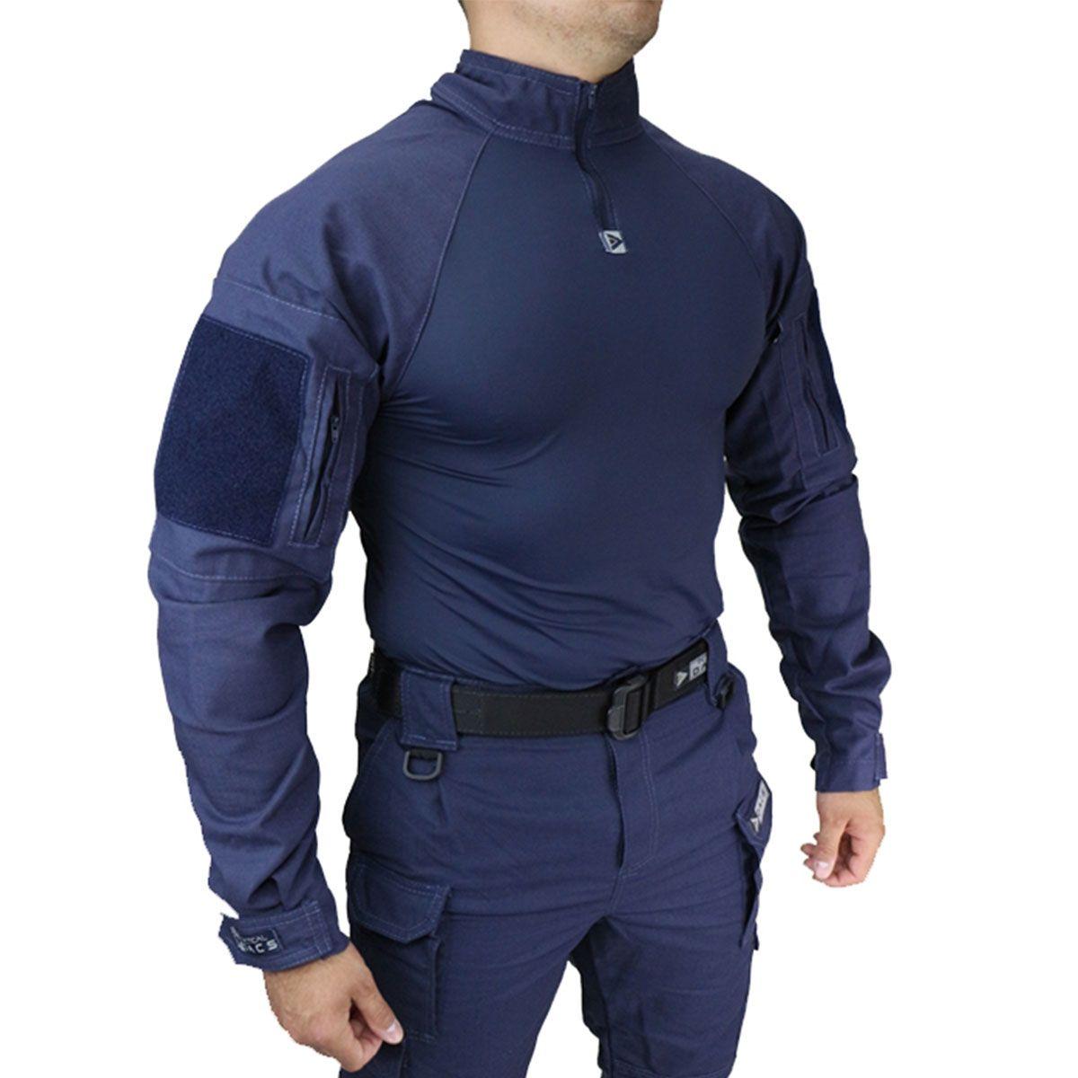 Combat Shirt Hrt Dacs Azul Marinho