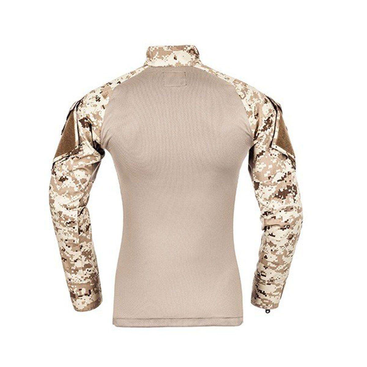 Combat Shirt Invictus Raptor Cam Digital Deserto