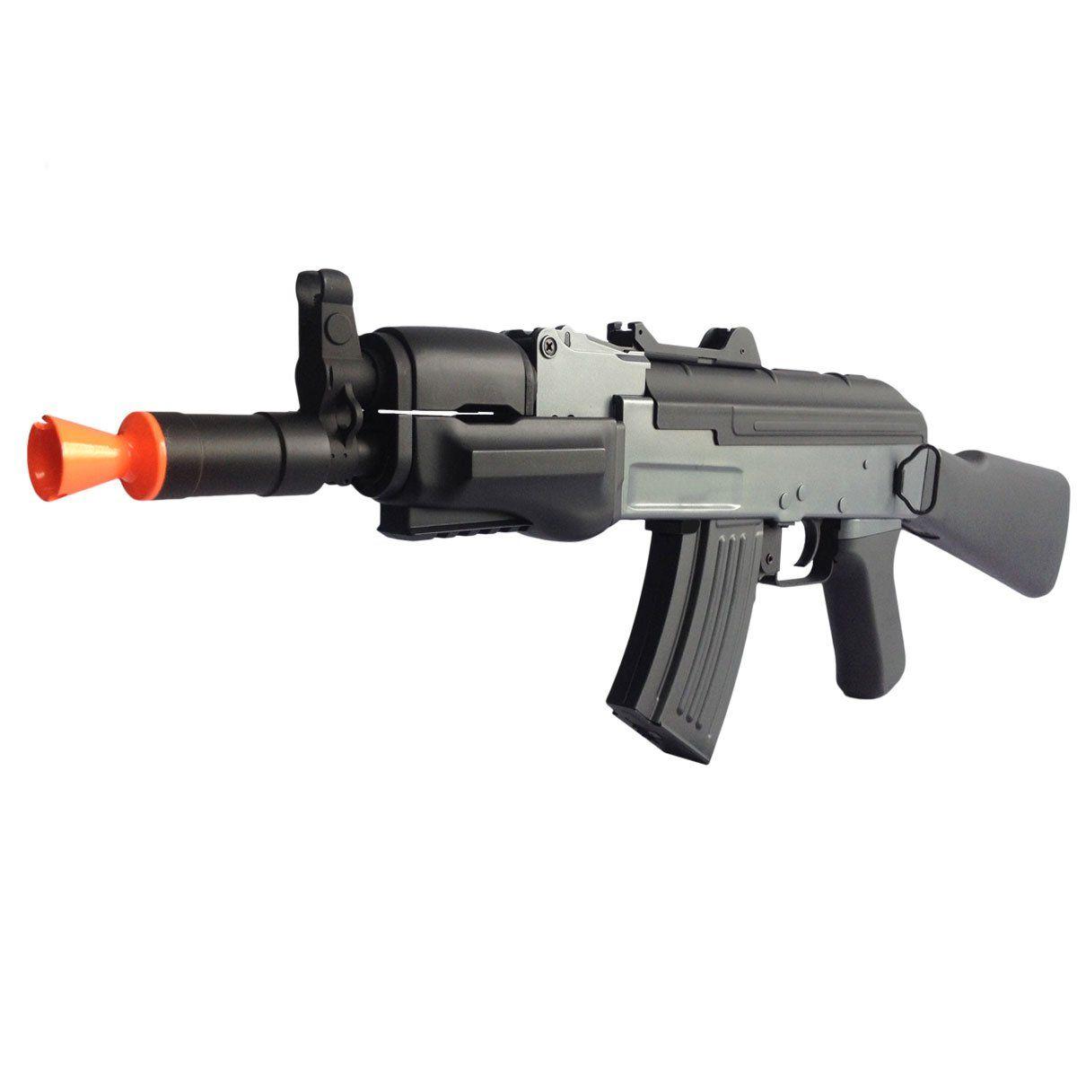 Combo Rifle de Airsoft AK Spetsnaz Cyma Elet Plast + Case Cal 6mm
