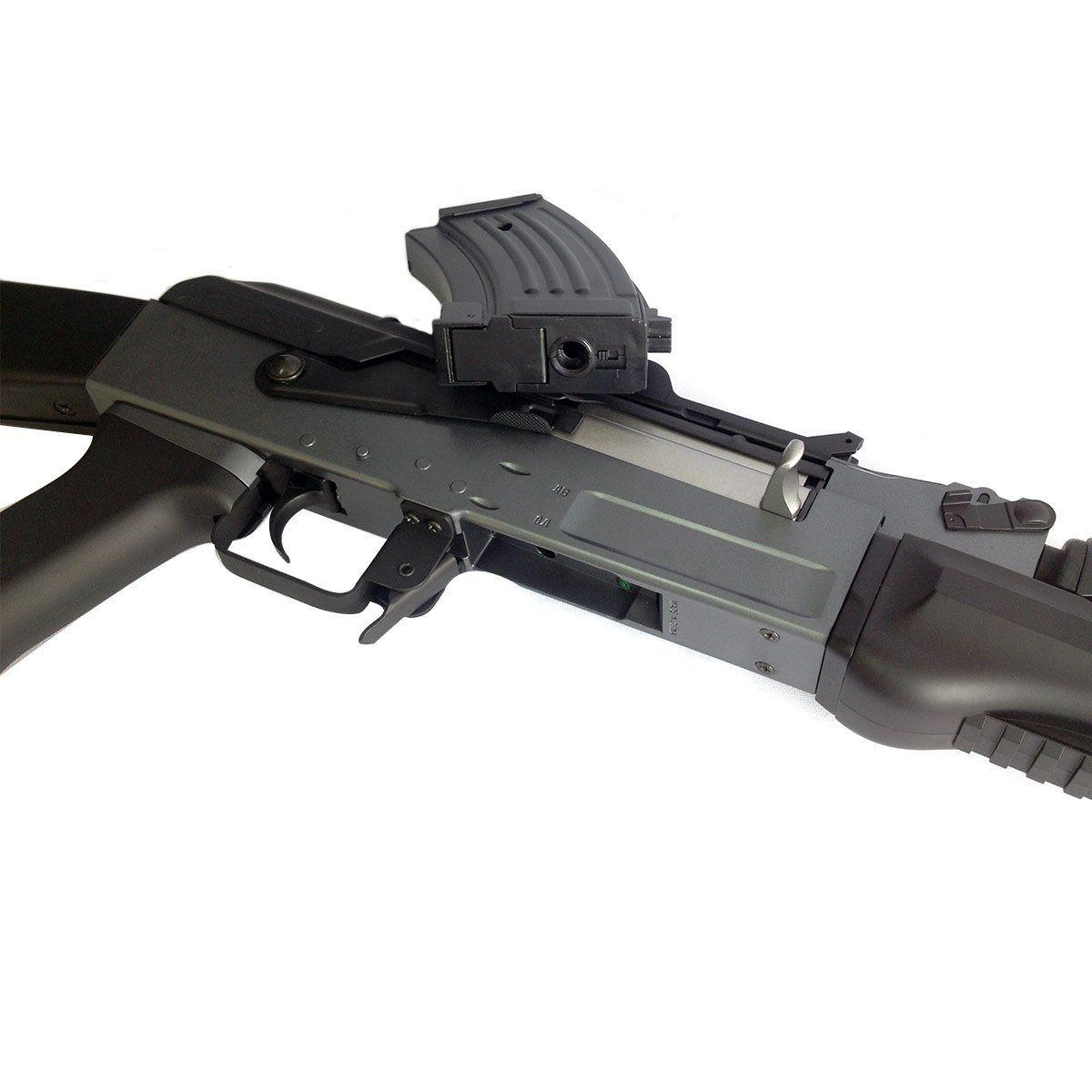 Rifle de Airsoft Cyma AK Spetsnaz CM.037 Elétrico Bivolt 6mm
