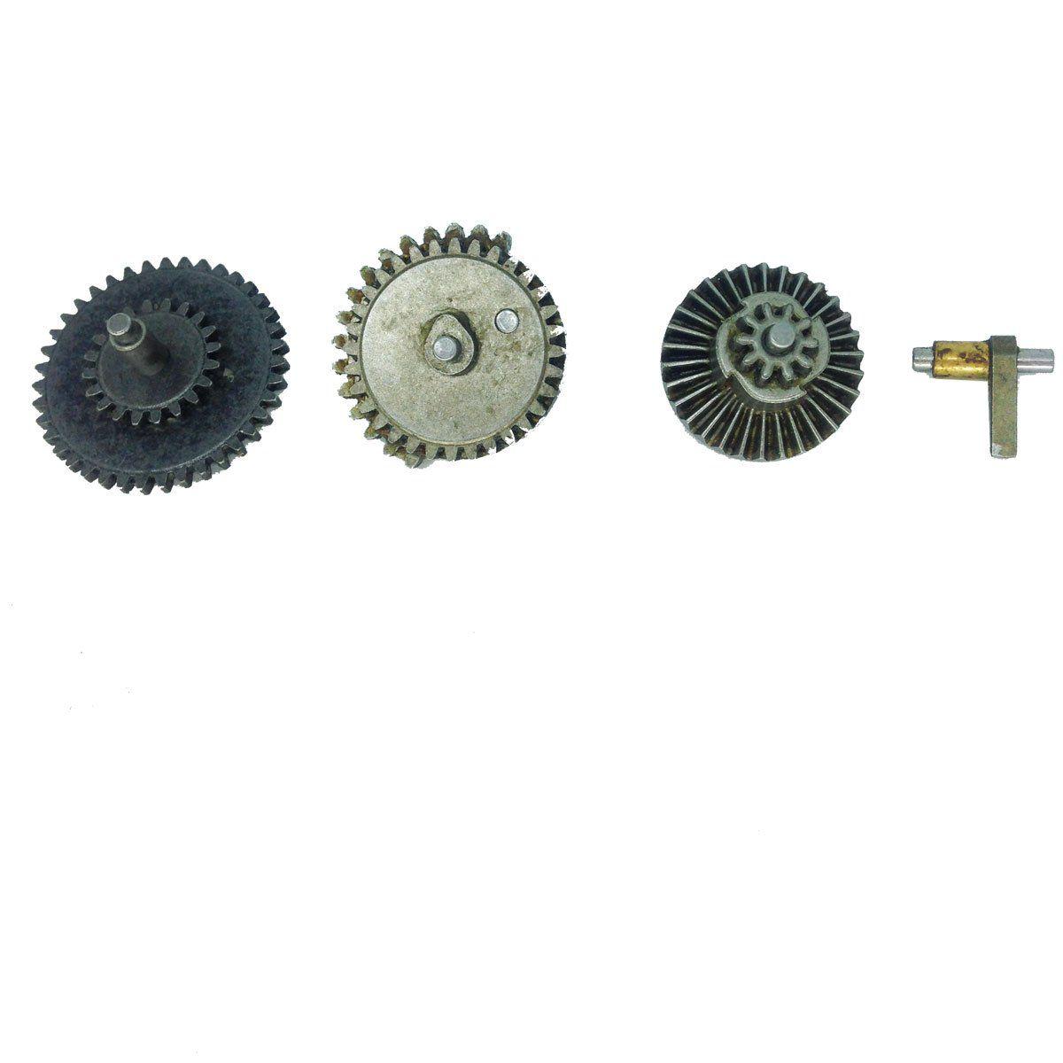 Conjunto de Engrenagem Padrão 18:1 Metal Dytac