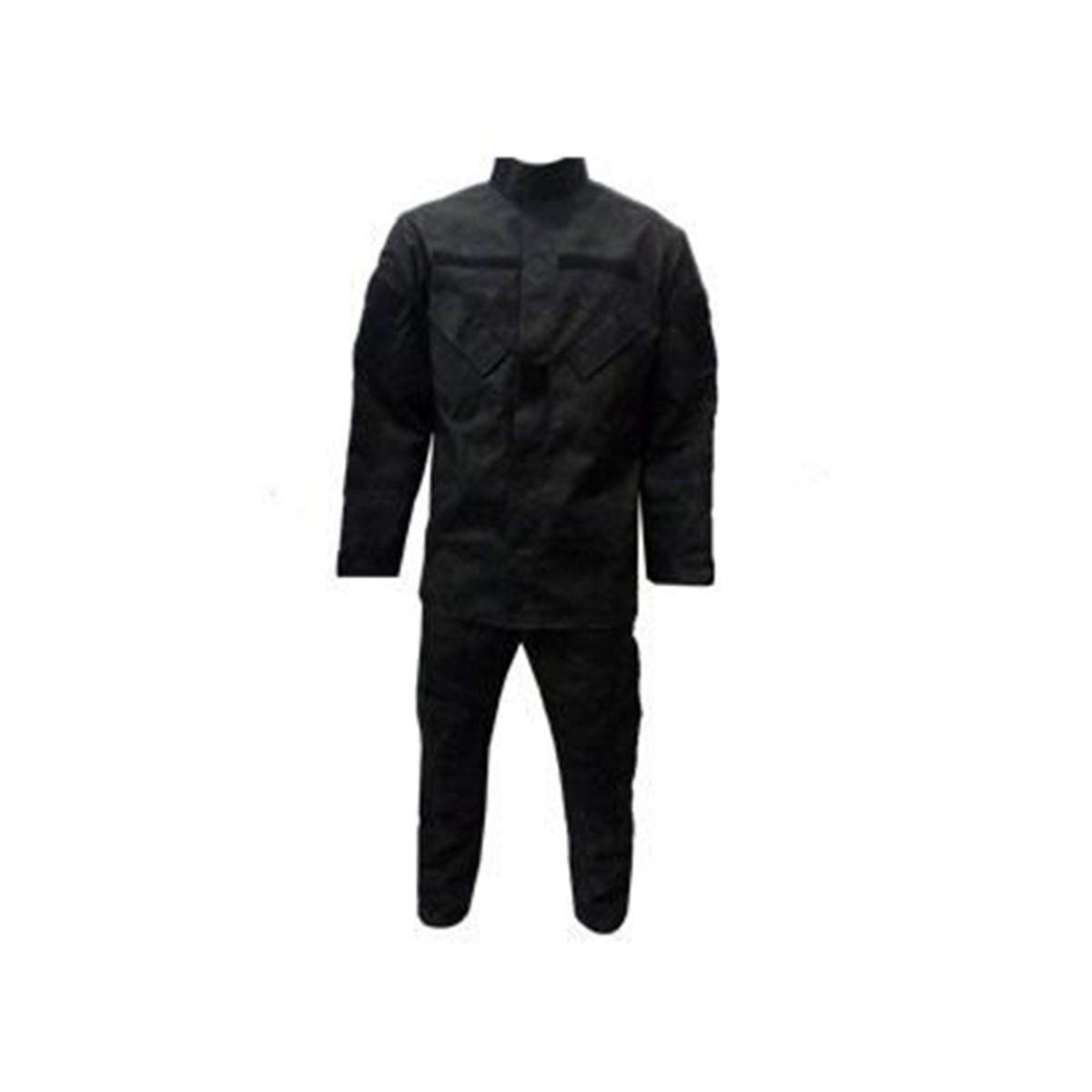Conjunto Gandola + calça Ripstop Multicam Black - Uai Fardas