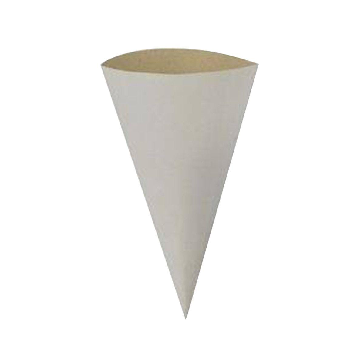 Copo/Cone biodegradável para pesca 50 un.