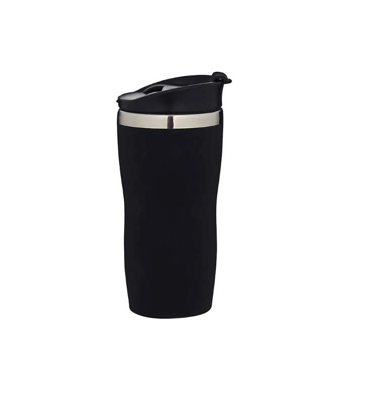 Copo de Aço Inox Mor Coffe To Go 450ml - Preto