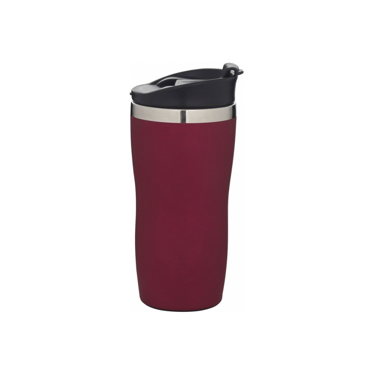 Copo de Aço Inox Mor Coffee To Go 450ml Vermelho