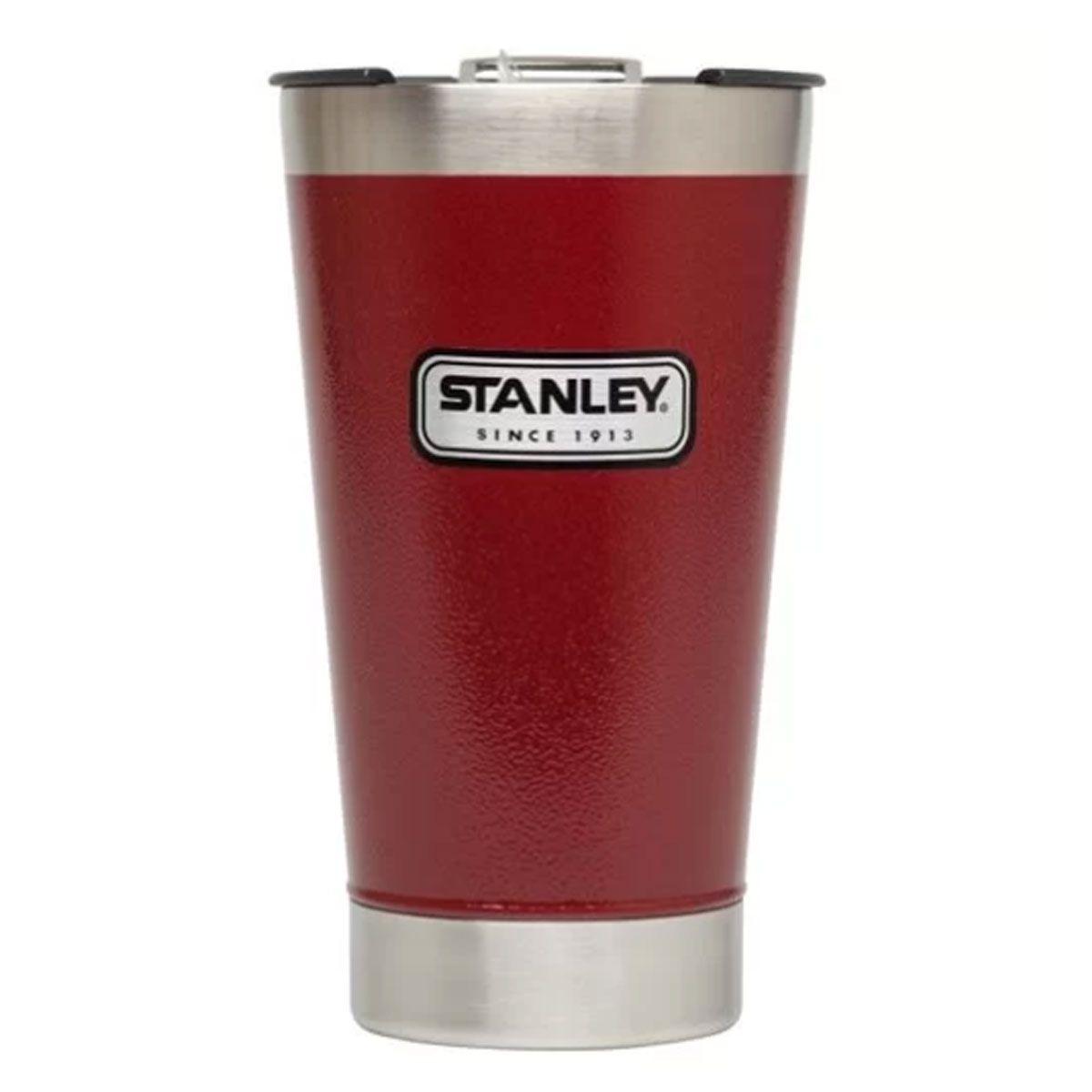 Copo de Cerveja Térmico Stanley Hammertone Crimson 473ml