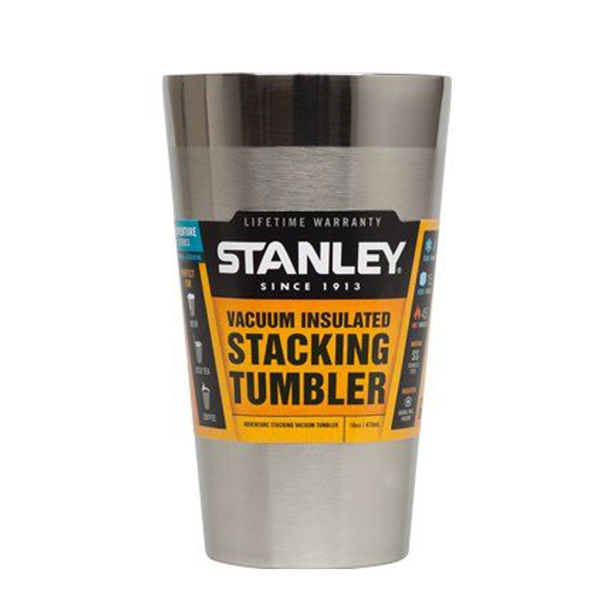 Copo de Cerveja Térmico Stanley sem Tampa Adventure Inox 473ml