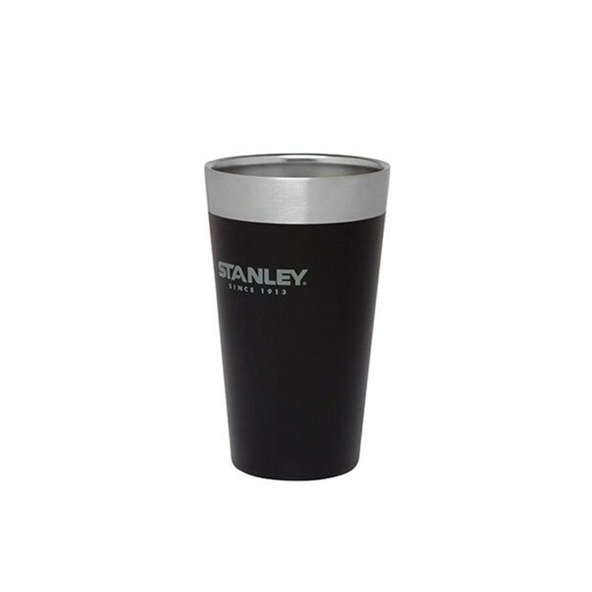 Copo Térmico de Cerveja Sem Tampa Matte Black 473ML Stanley