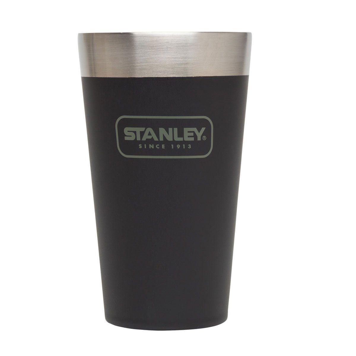 Copo de Cerveja Térmico Stanley sem Tampa Adventure Matte Black 473ml
