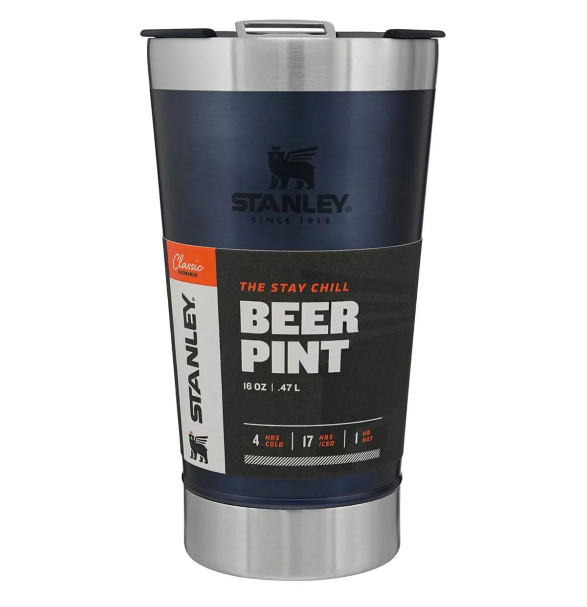 Copo Térmico de Cerveja Stanley com Tampa Azul 473ml