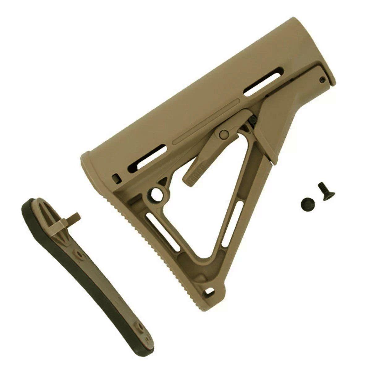 Coronha Para Rifles M4 Airsoft CTR - Tan