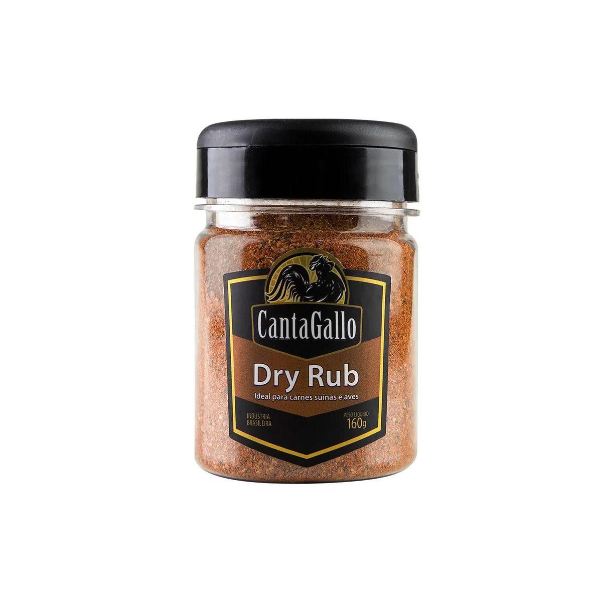 Dry Rub Cantagallo 160g