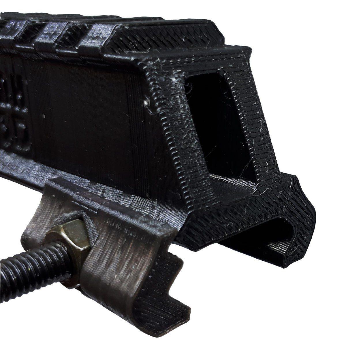 Elevador de Trilho 22mm Preto 3D MH3D