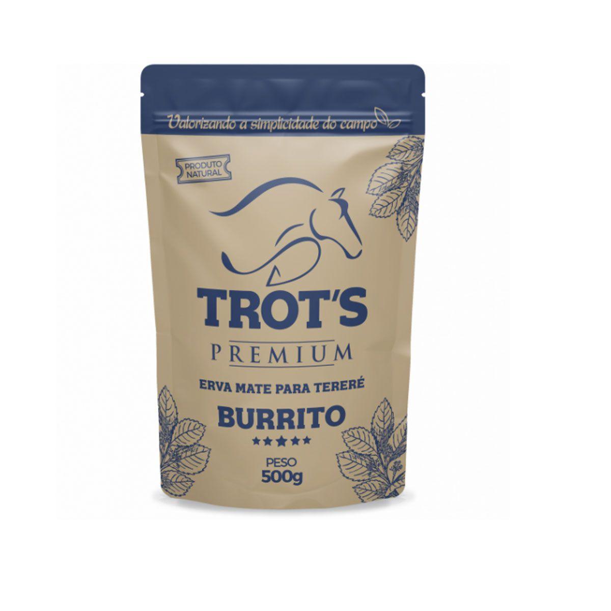 Erva Mate Trot's para Tereré Burrito 500g