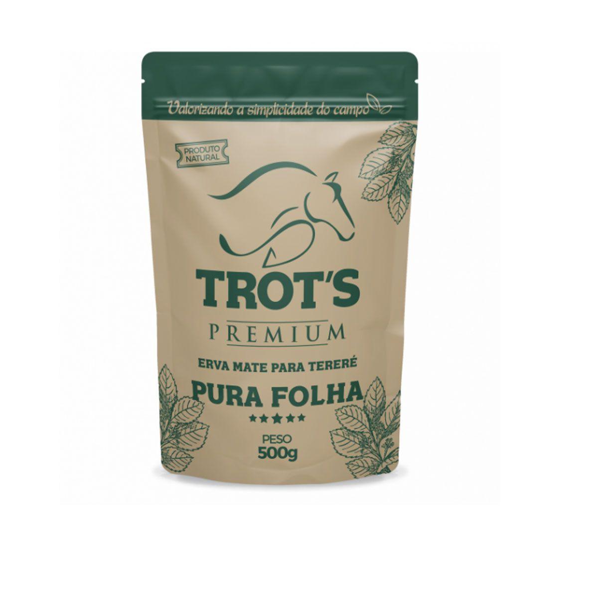 Erva Mate Trot's Premium para Tereré Pura Folha 500g
