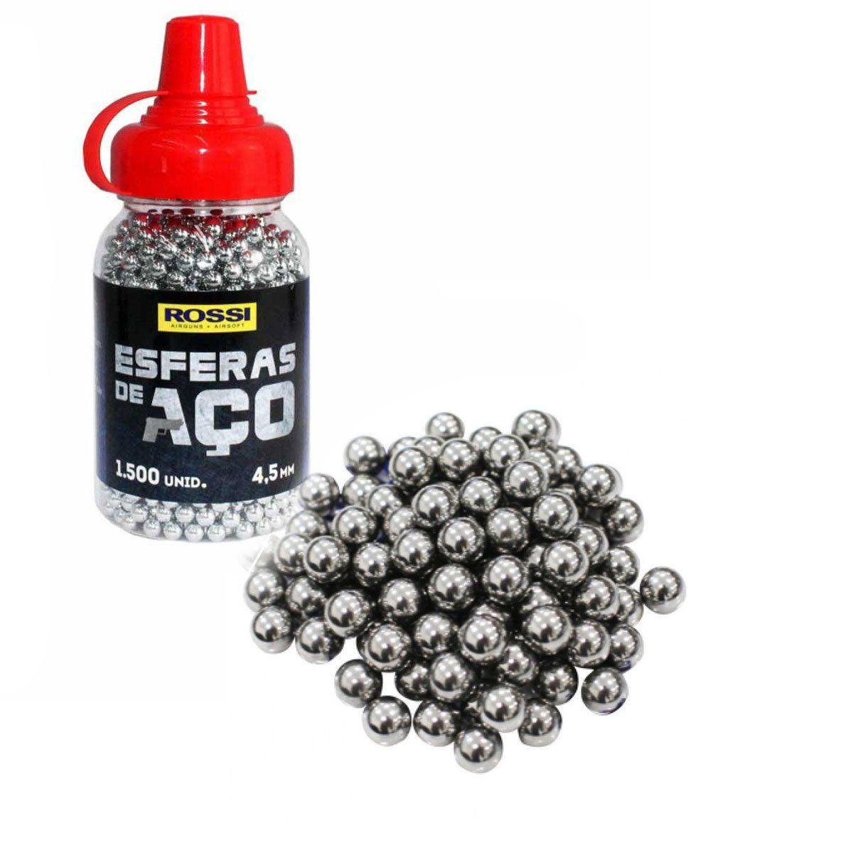 Esferas de Aço Rossi 4,5mm 1500 unidades