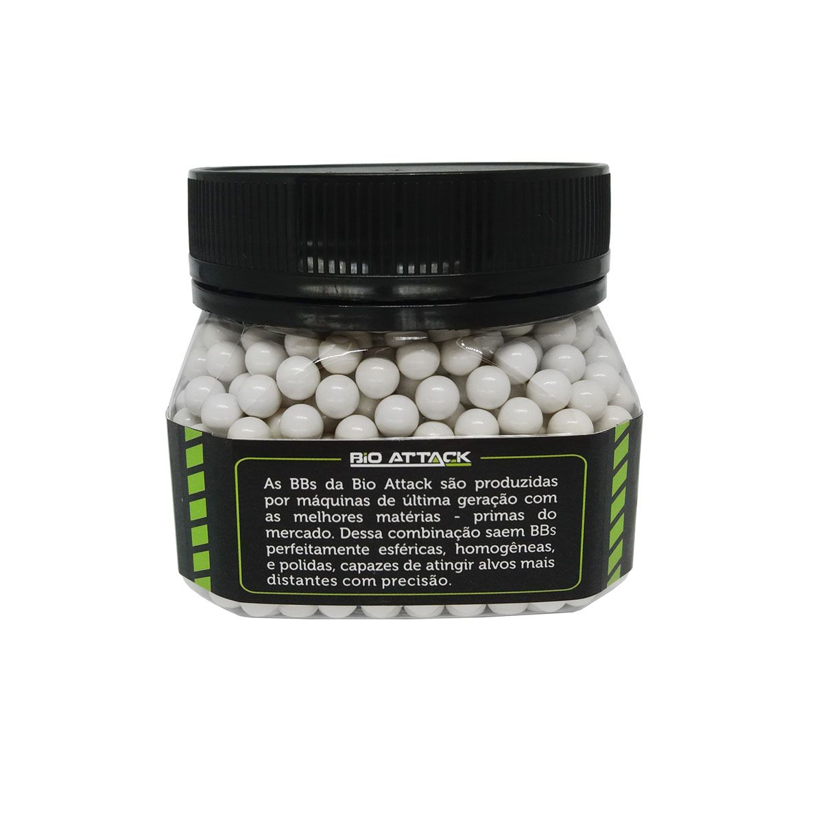 Esferas Plásticas BBs Bio Attack 6mm 0,43g 1000un