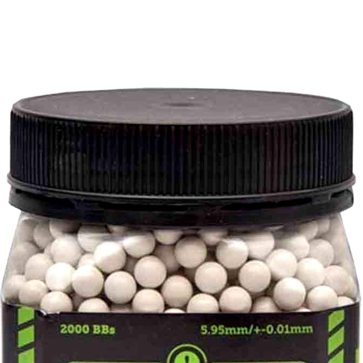 Esferas Plásticas BBs Bio Attack Sniper 6mm 0,30g 2000un
