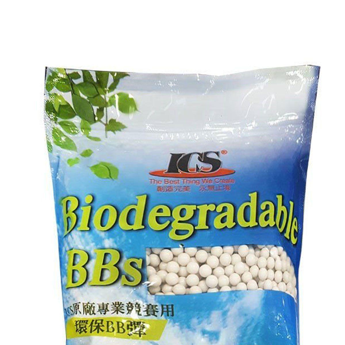 Esferas Plásticas BBs ICS 6mm 0,20g 5000un