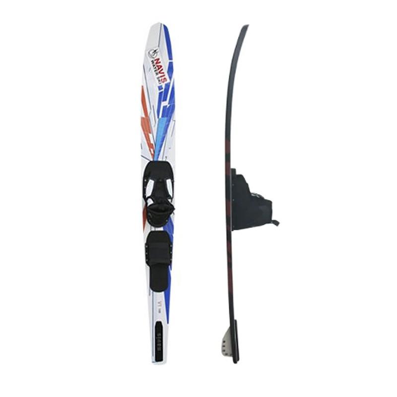 Esqui Aquático com Botas Navis 168cm - Branco
