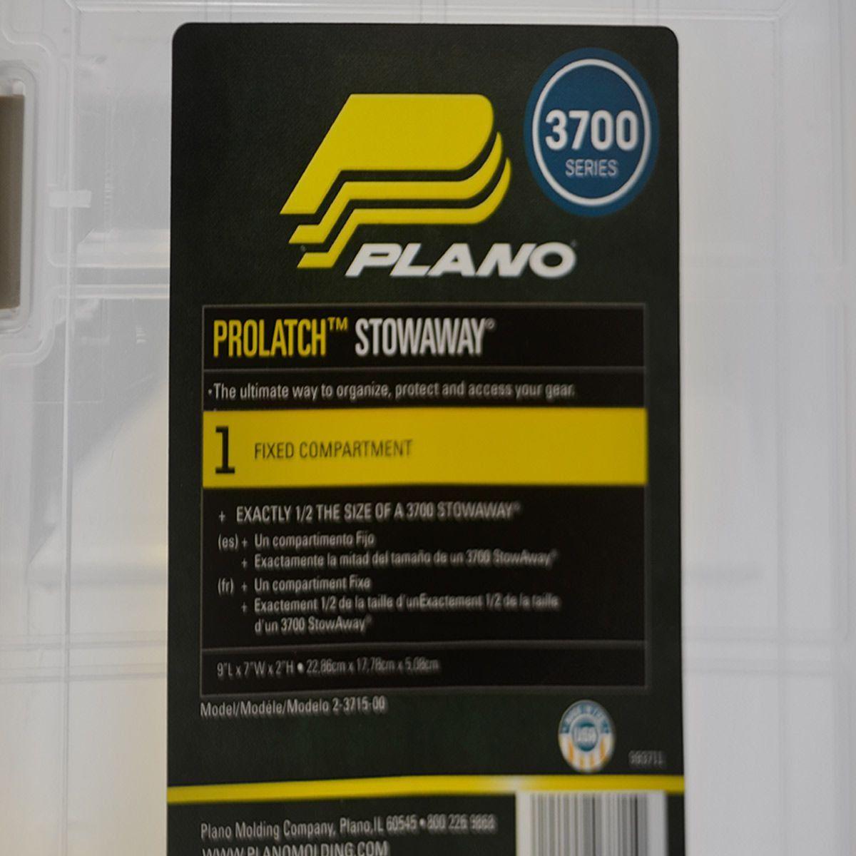 Estojo Plano Prolatch com 1/2 tamanho: 3700 Modelo 3715-00