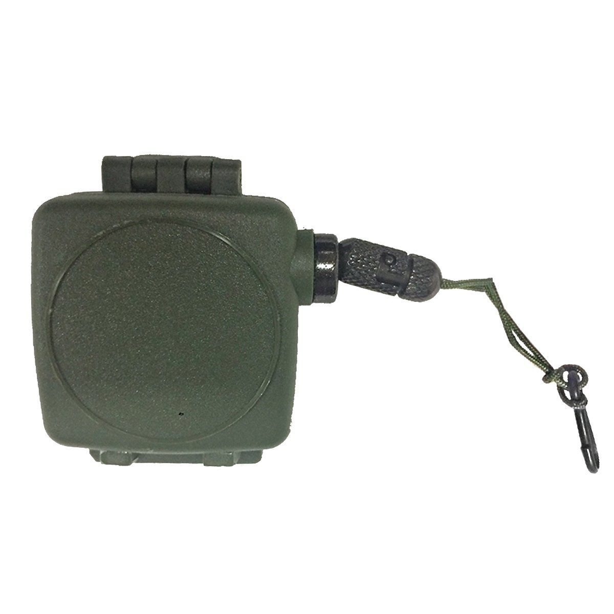 Fiel Retrátil Para Pistola de Airsoft Com Estrela Verde Bravo