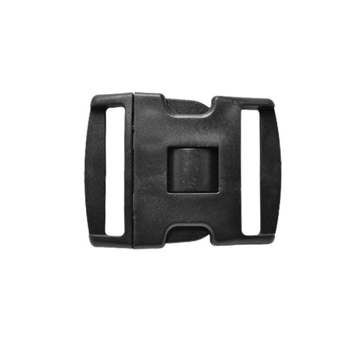 Fivela Plástica P/ Cinto NA 3 Travas 50mm
