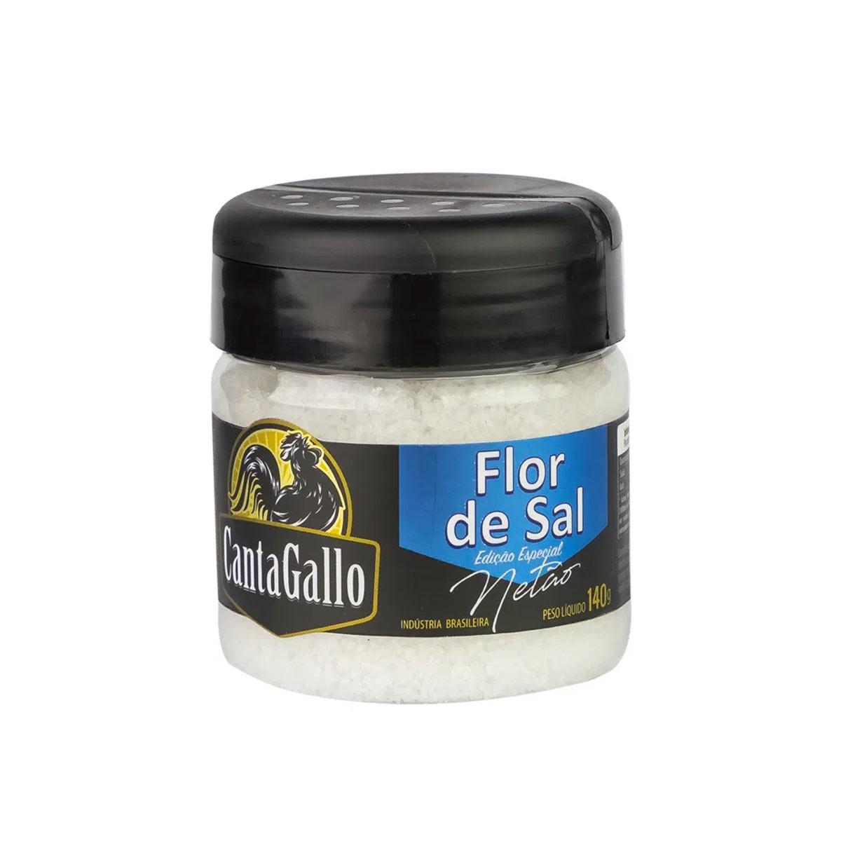 Flor de Sal CantaGallo Edição Especial Netão - 140g