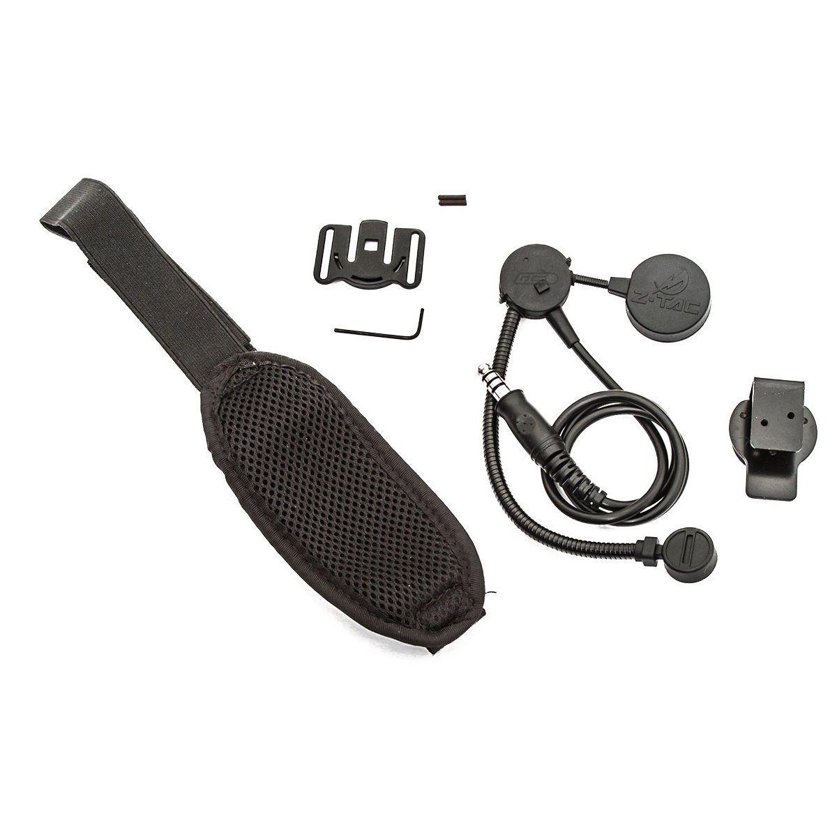 Fone Com Microfone Para Rádio Comunicador Z043 Ztac