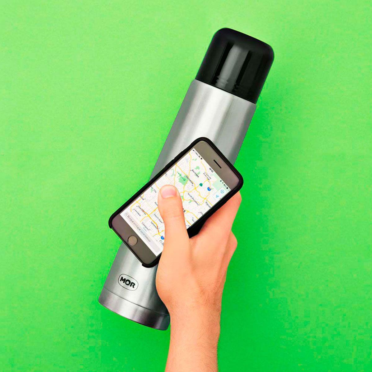Garrafa Térmica Mor Fit Total Inox 1,0 Litro