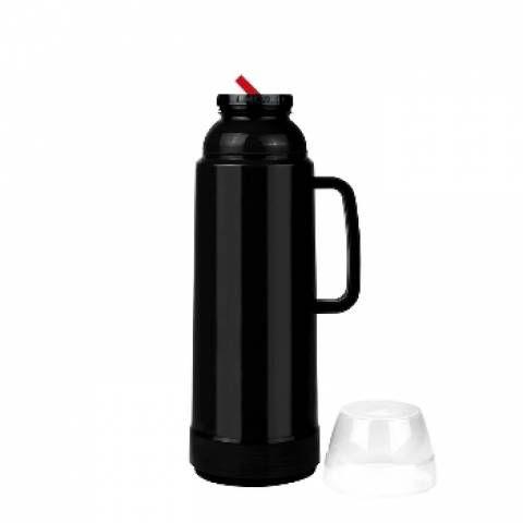 Garrafa Térmica Mor Use Flip 1,0 Litro Preta