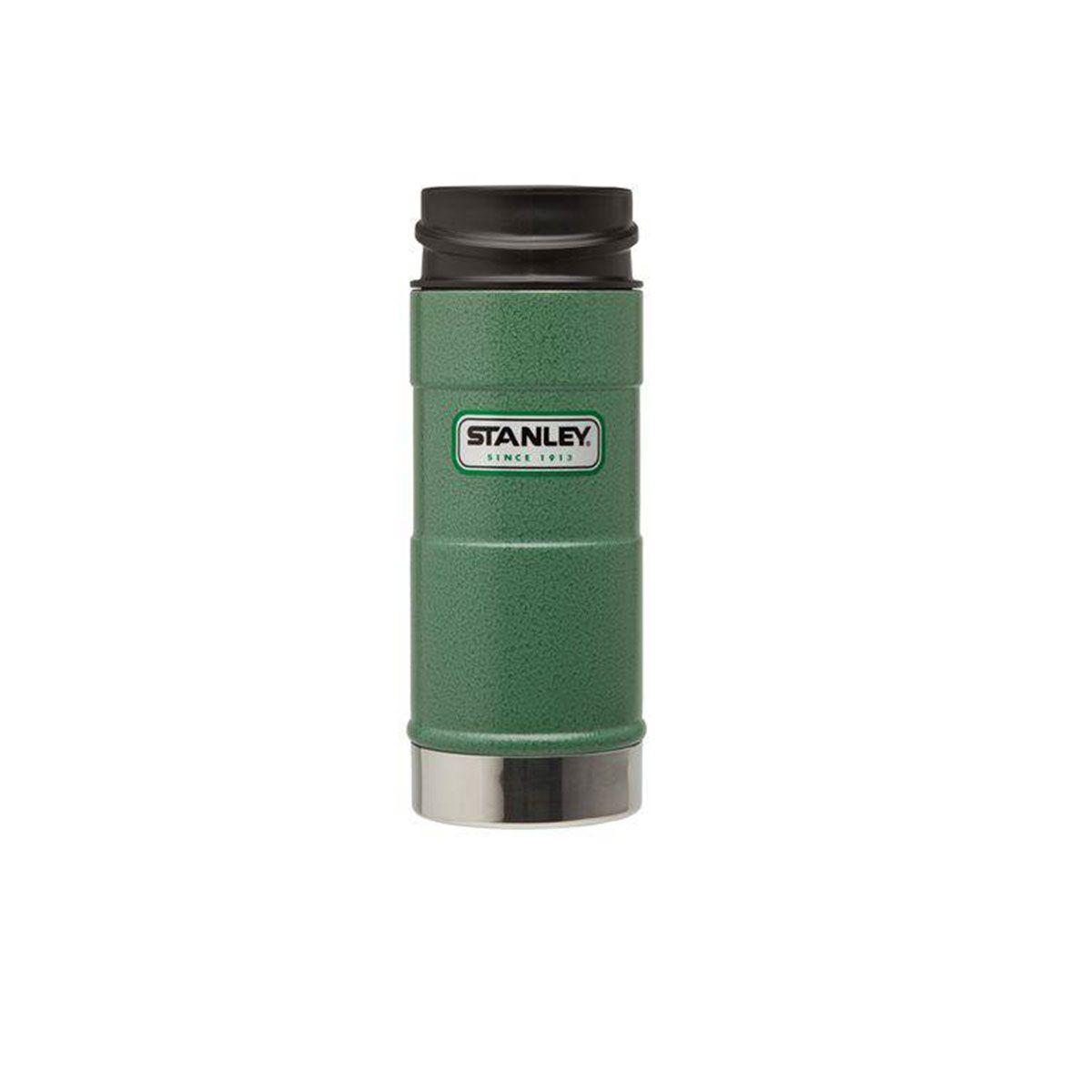 Garrafa Termica One Hand Hammertone Green 0,354L - Stanley