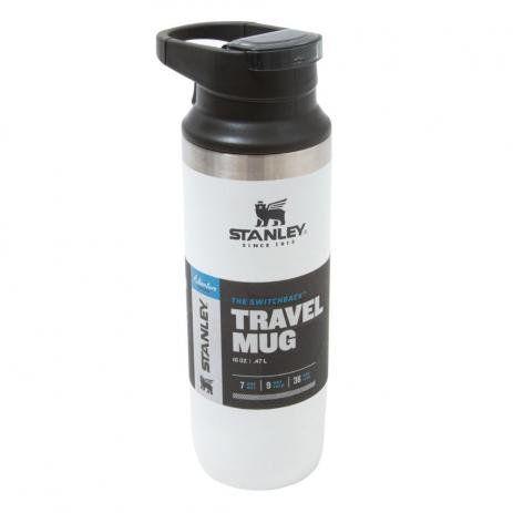 Garrafa Térmica Stanley Swichback 473ml - Branco