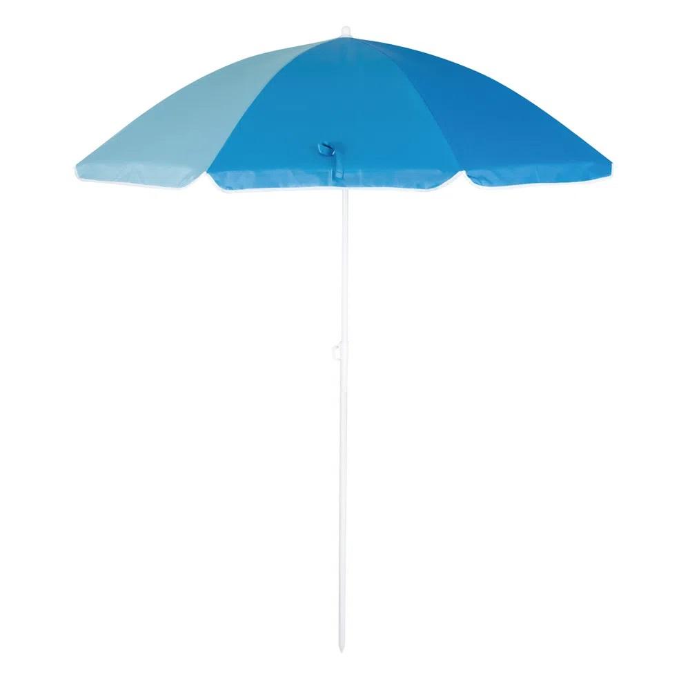 Guarda Sol Mor Fashion 1,80m - Cor Azul Marinho / Azul Claro