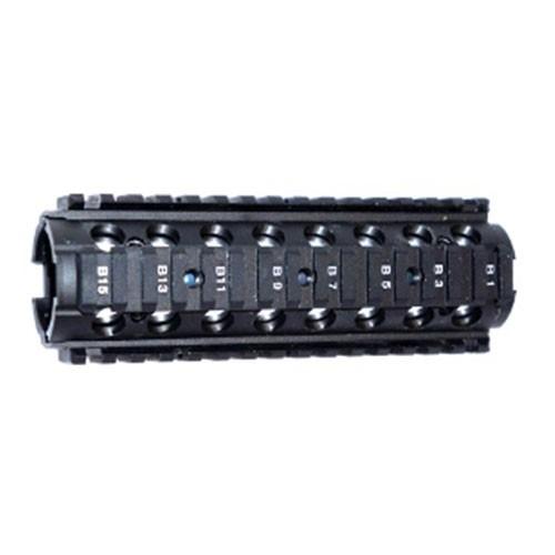 Handguard RIS BI Partido 7 polegadas em Metal - Dytac