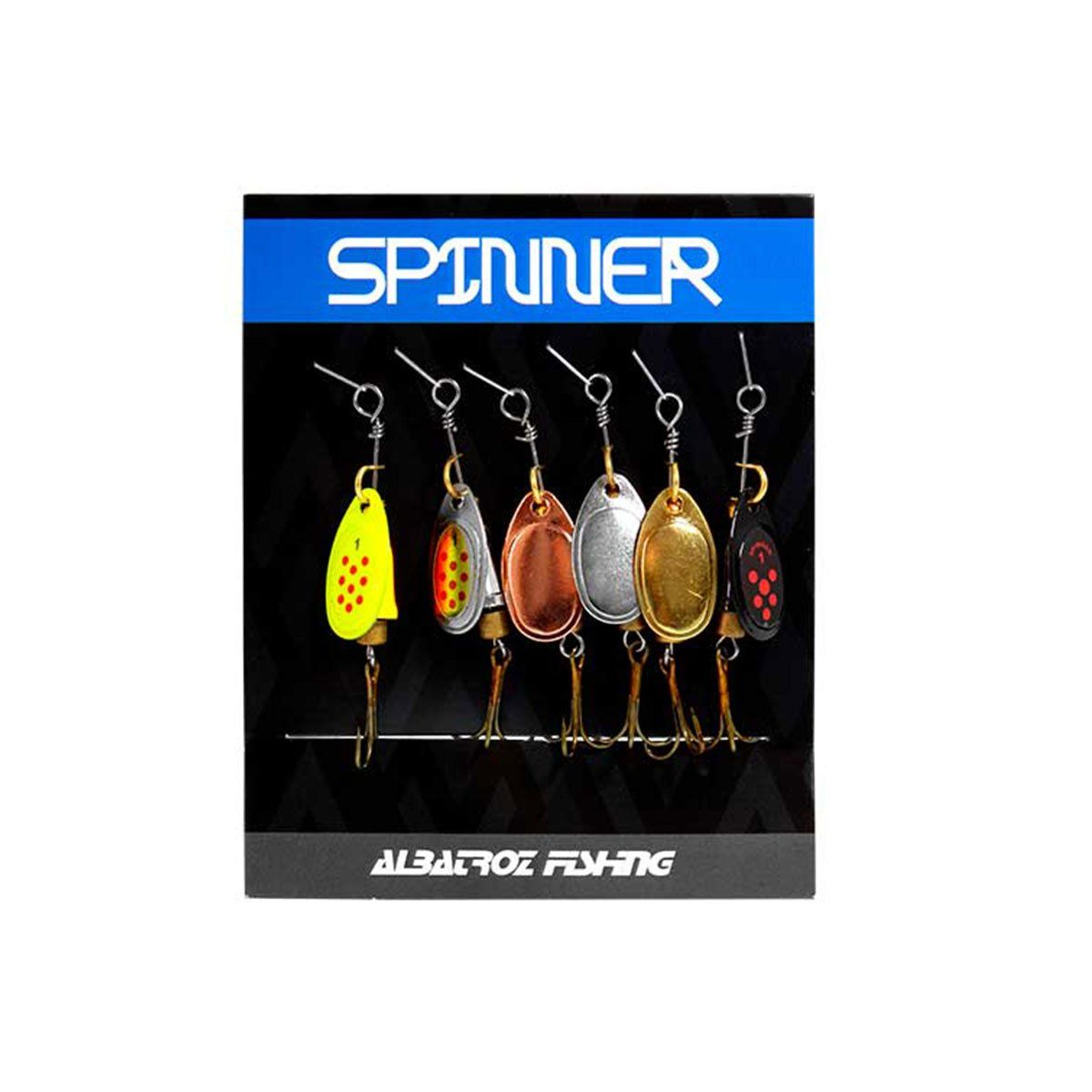 Isca Artificial Albatroz Spinner LQ-9051 6cm 4g