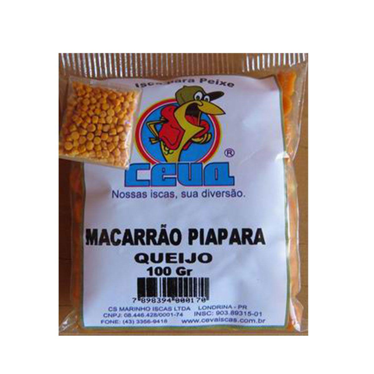Isca Macarrao Ceva Piapara Queijo