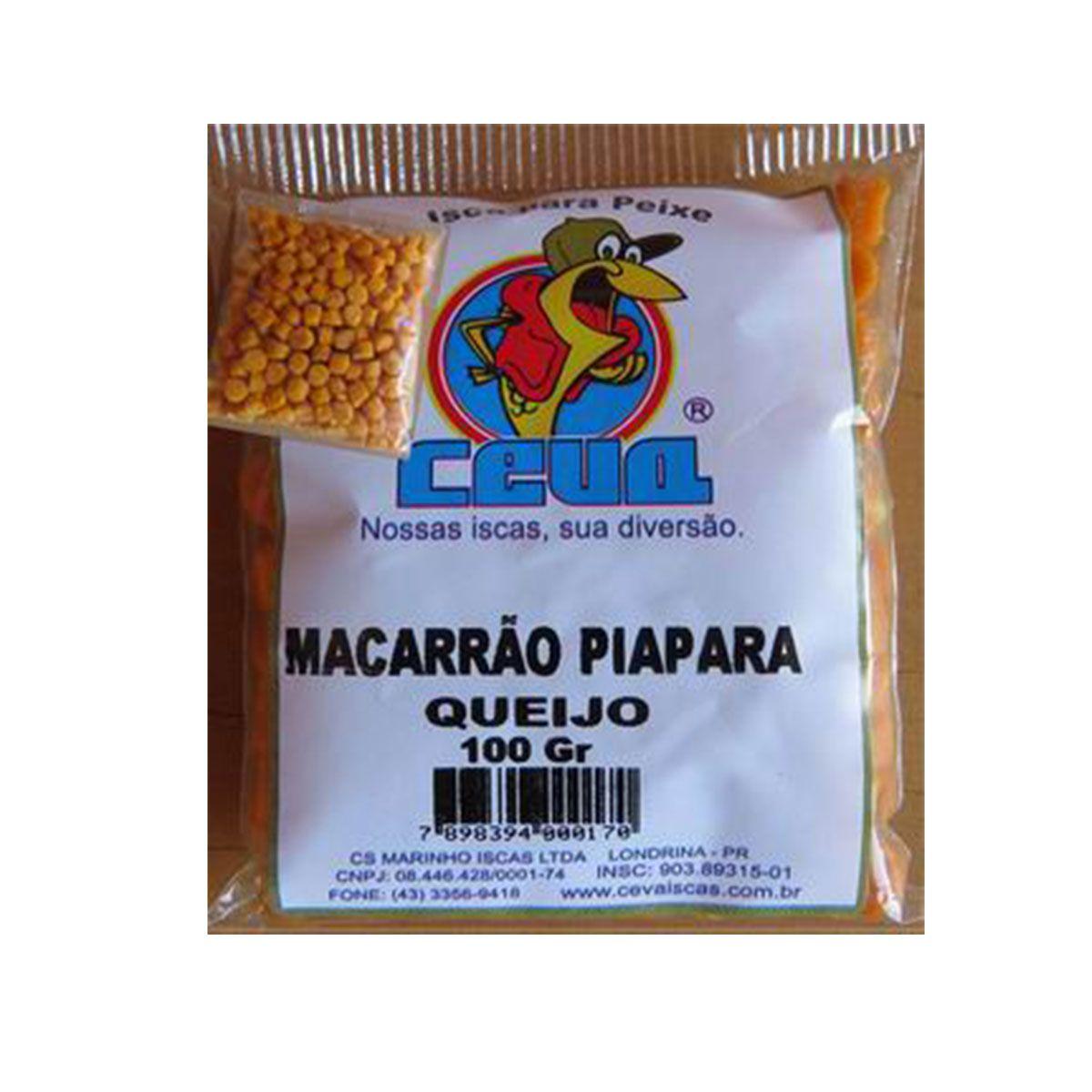 Isca Pronta para peixes Macarrão Pacu Queijo