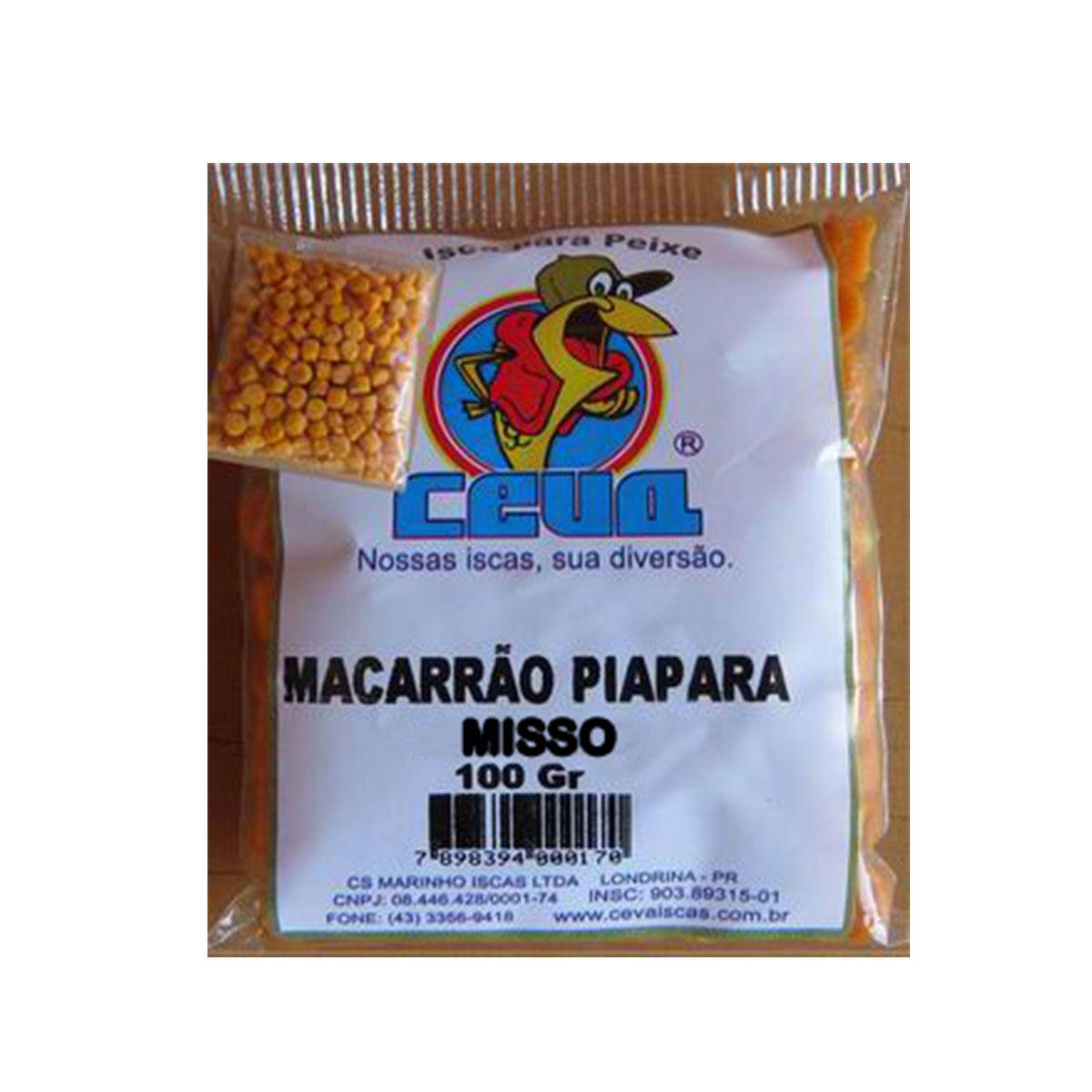Isca Pronta para peixes Macarrão Pacu Misso