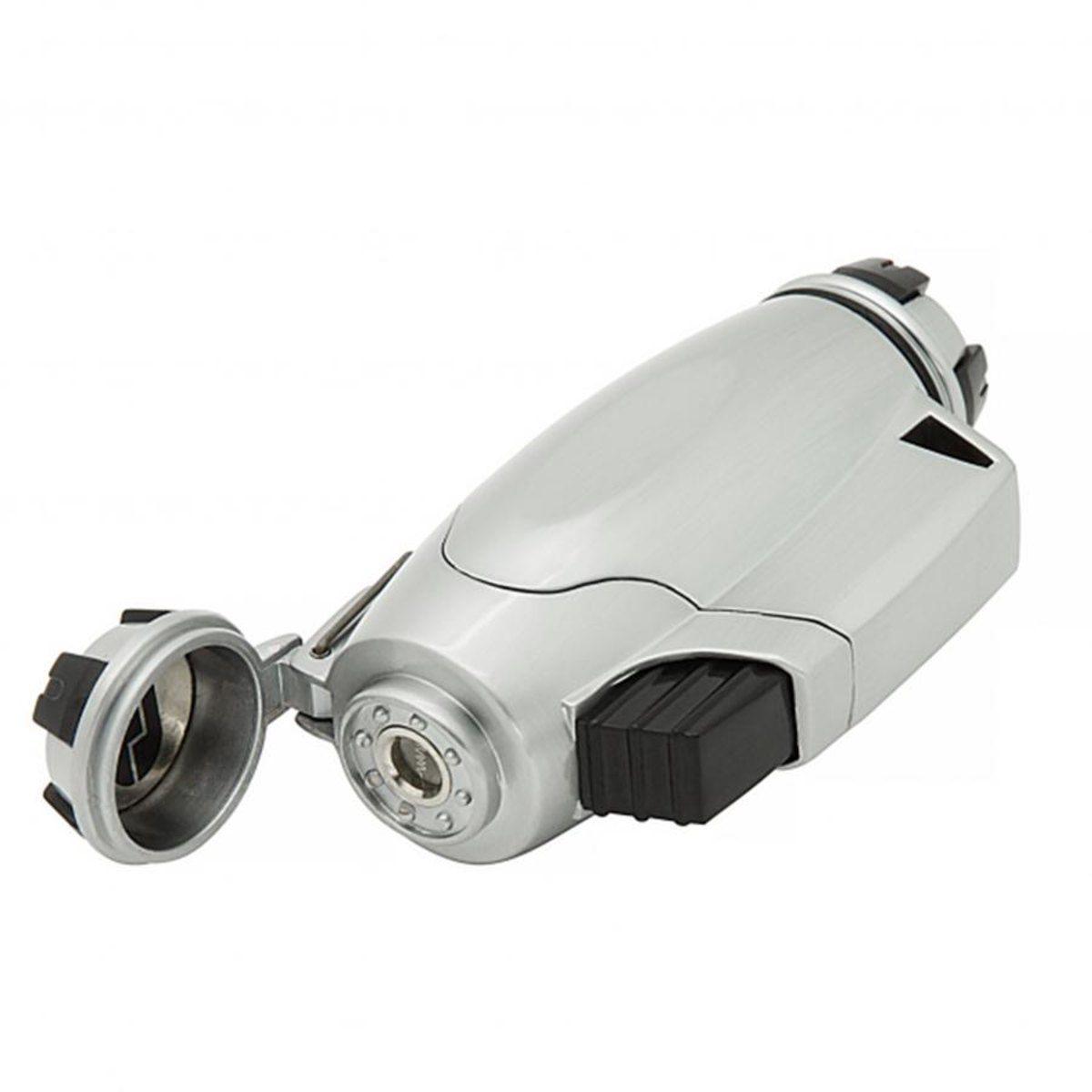 Isqueiro Tipo Maçarico Com Chama Ajustavel True Utility FireWire Turbojet Lighter