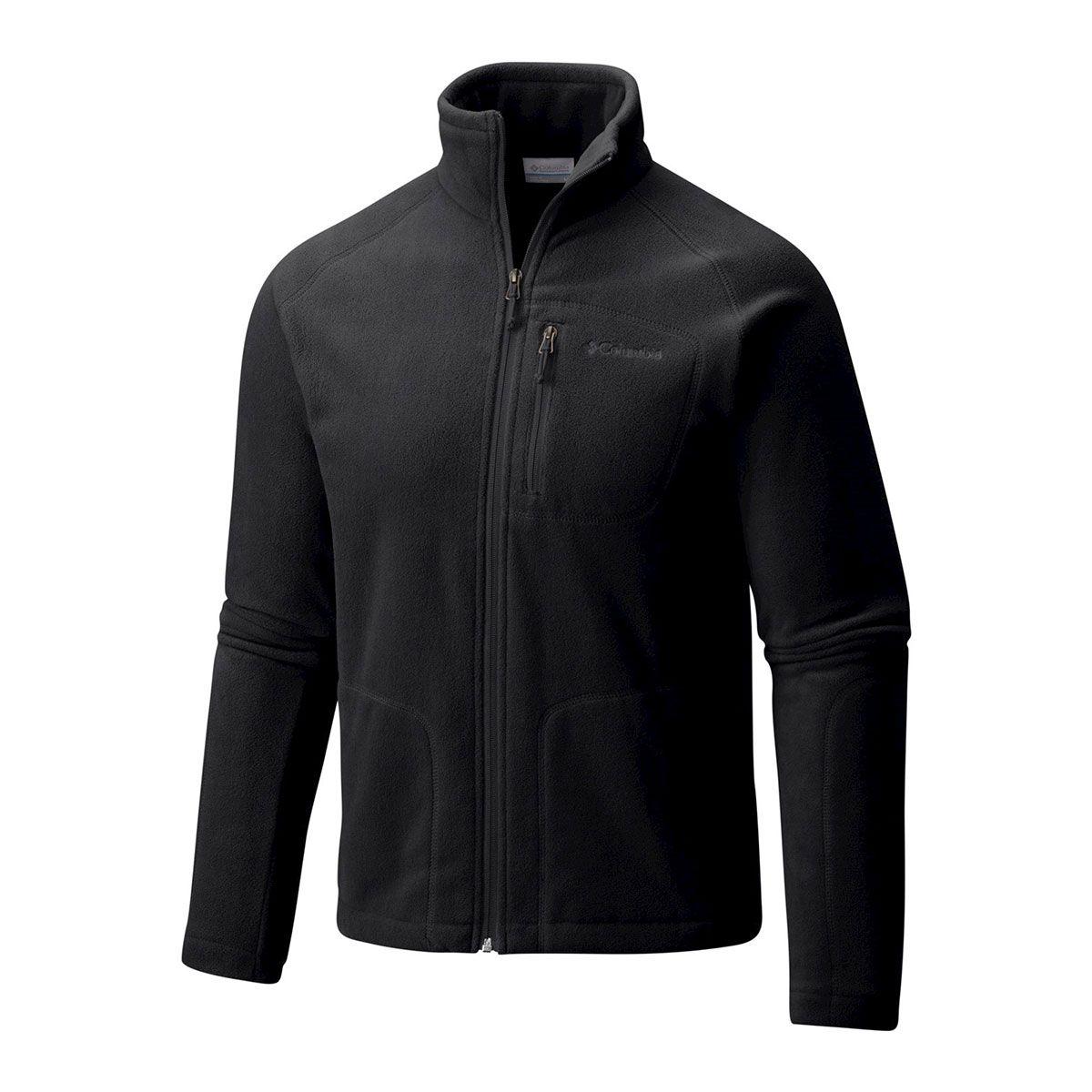 Jaqueta Columbia Fast Trek II Full Zip Fleece Black