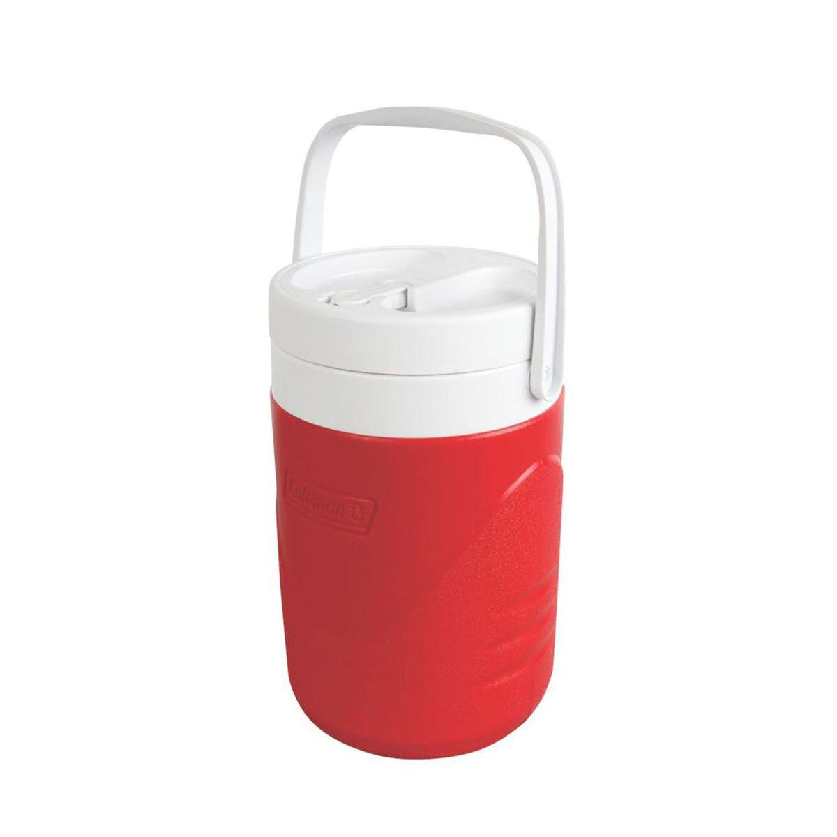Jarra Térmica Coleman 3,8 Litros Vermelha com Alça de Mão