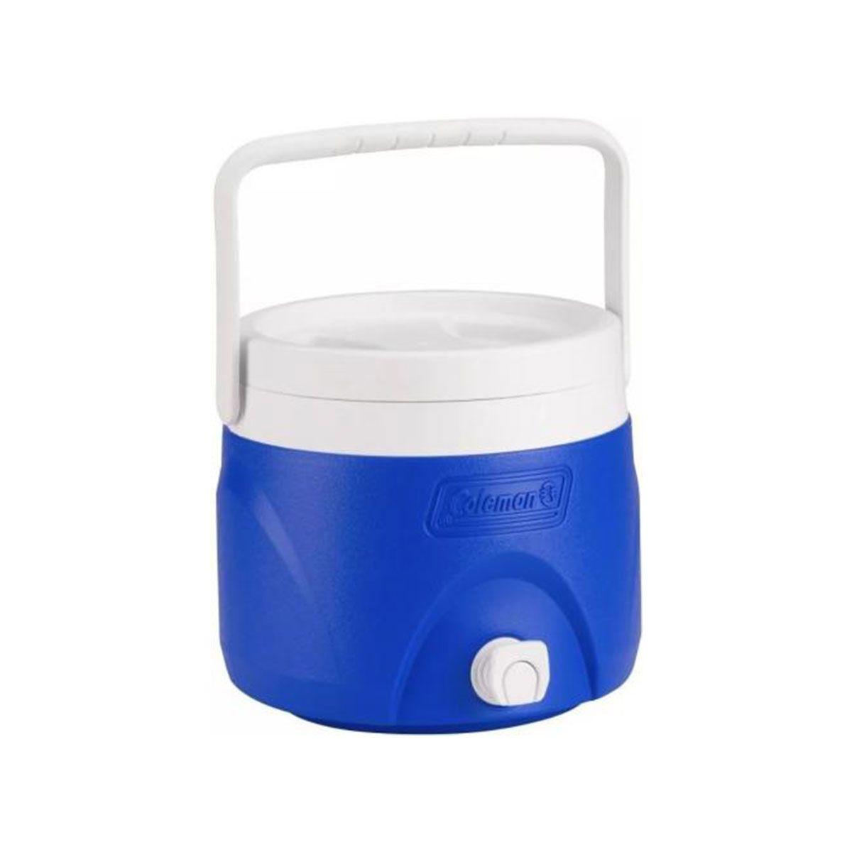 Jarra Termica Coleman 7,5 Litros Azul com Alça de Mão